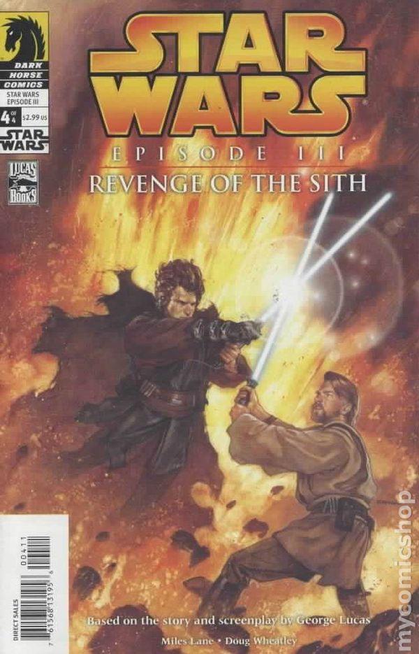 Star Wars Episode 3 Revenge Of The Sith 2005 Comic Books