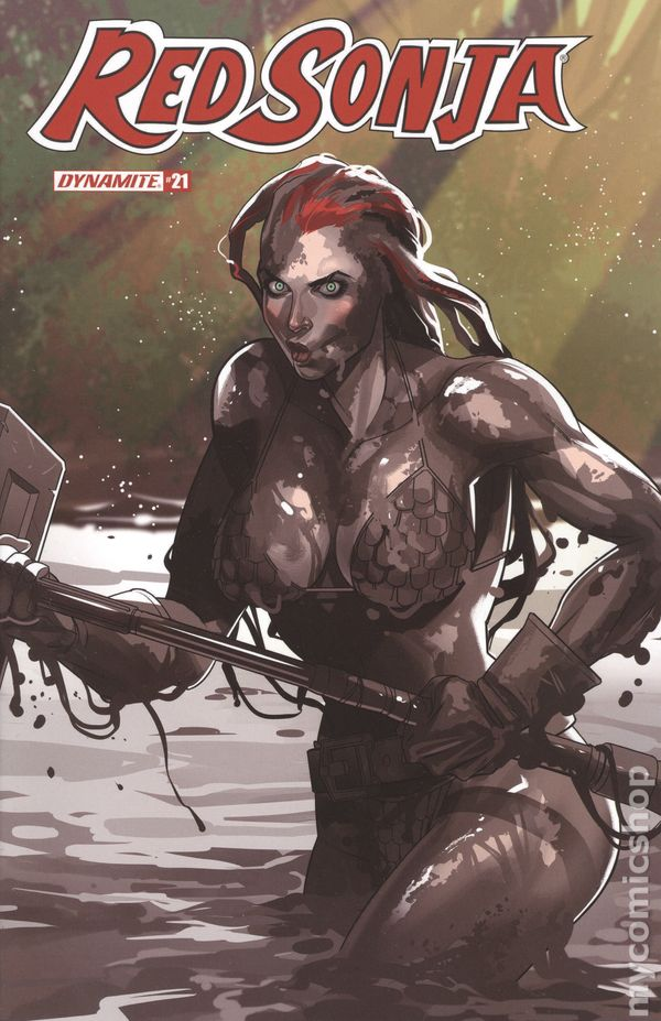 Red Sonja Price of Blood 1A VF 2020 Stock Image