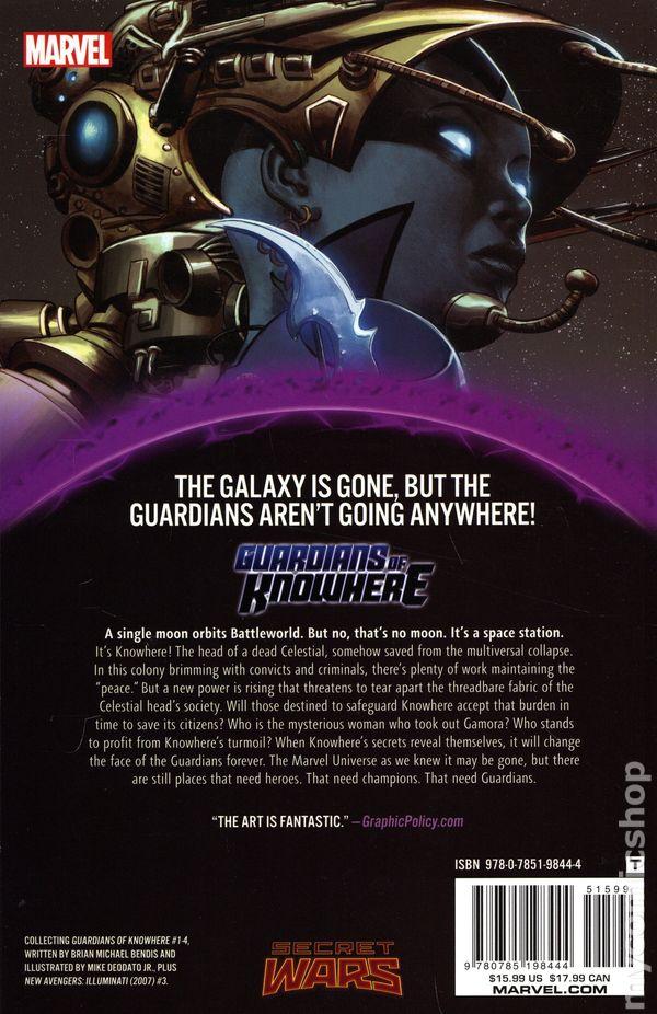 Variant 1st Gwenom CGC 9.8 NM+//MT Marvel Comics 2015 Guardians Of Knowhere #1