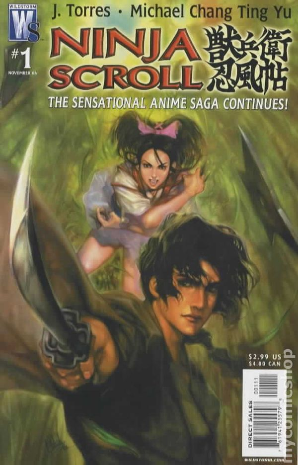 Ninja Scroll 2006 Comic Books 2006