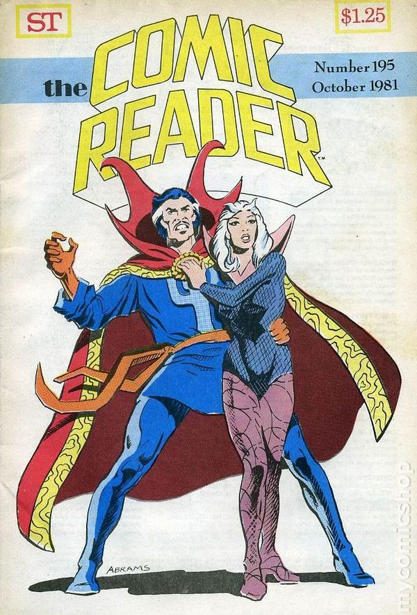 Comic Reader, The (1961) comic books