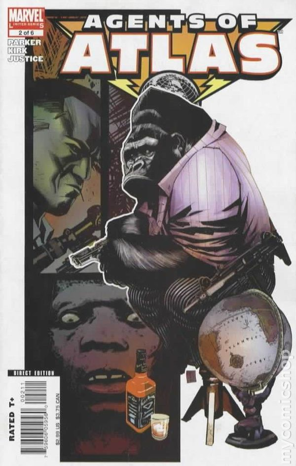 Agents Of Atlas 2006 Marvel Comic Books