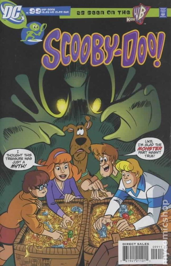Scooby-Doo (1997 DC) comic books