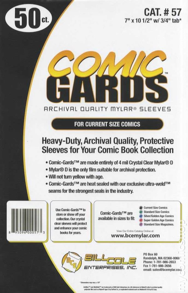PACK OF 100 x SILVER AGE SIZE COMIC BAGS 1960/'S COMICS Ultra Clear Polyprop.