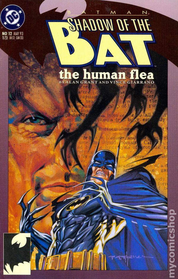 Batman Shadow of the Bat #22 VF 1993 Stock Image