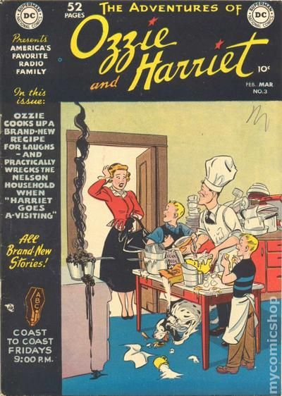 Adventures Of Ozzie And Harriet 1949 Comic Books