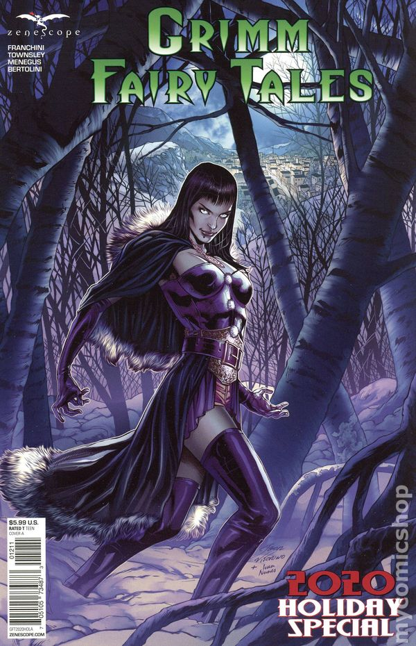 Wounded Warriors Special Cover B  Grimm Fairy Tales  Zenescope Comics CB13439