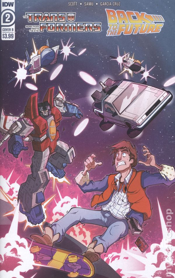 IDW Back to the Future #2 Cover A 1st Print