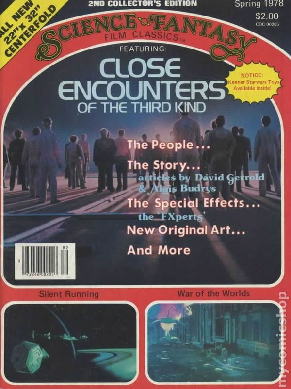 1977 SCIENCE FANTASY Film Classics #1 STAR WARS