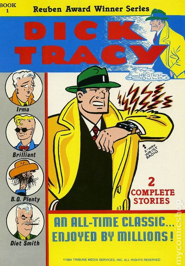 freezer Dick tracy