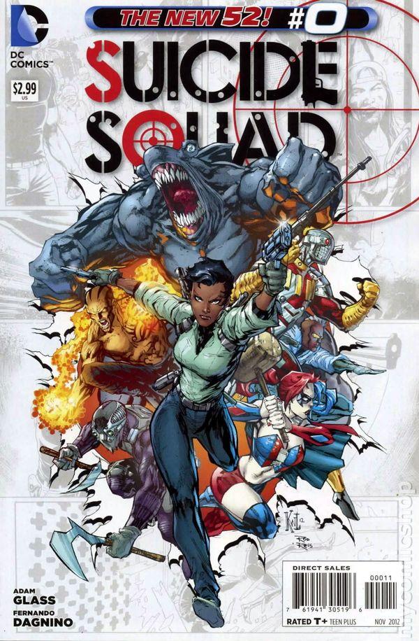 suicide squad 2011 4th series comic books