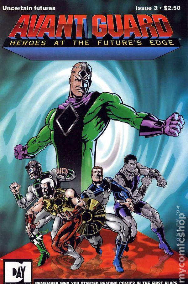 Avant Guard Heroes at the Futures Edge (1994) comic books