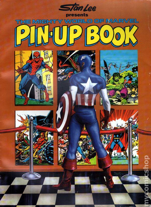 Pin On Comics: Comic Books In 'Pin-Up Comic