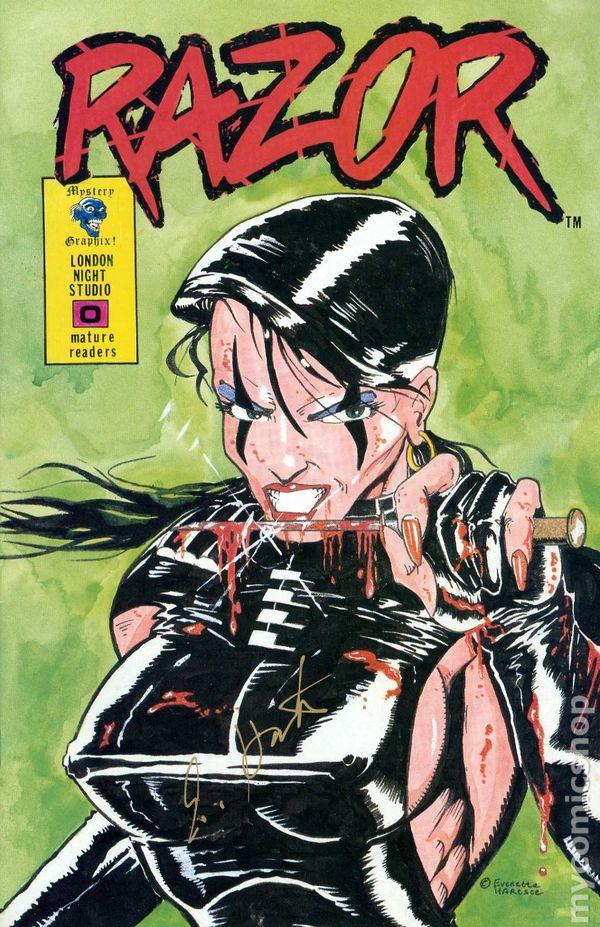 Razor 1992 1st Series 0ATOUR Comic books