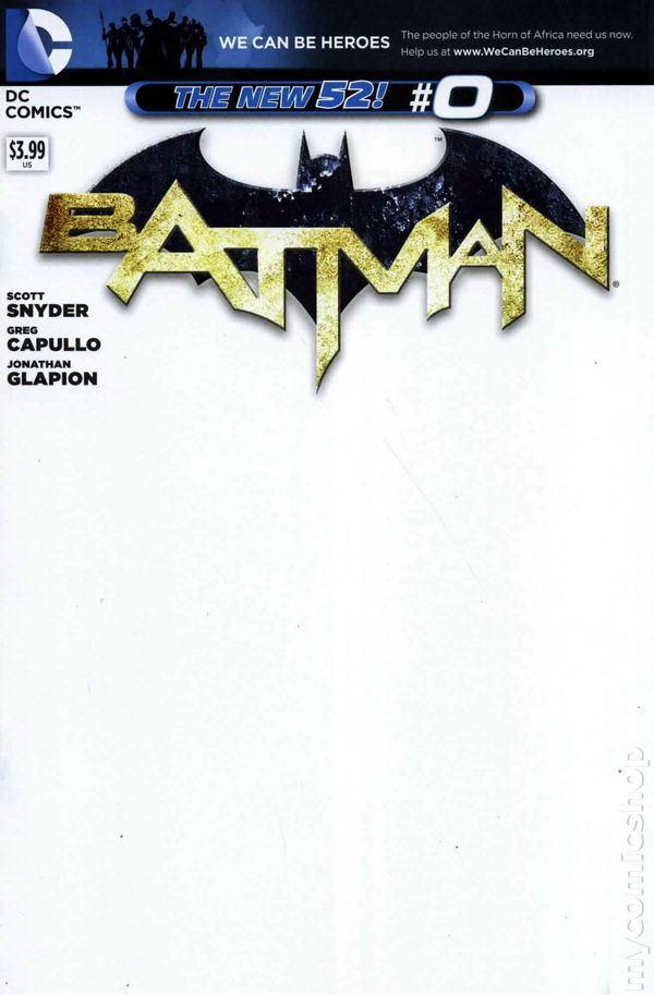 Batman 2011 2nd Series 0D Batman comic