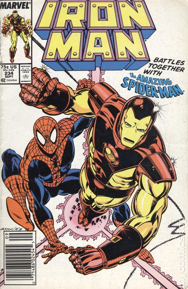 Iron Man Comic Books Issue 234