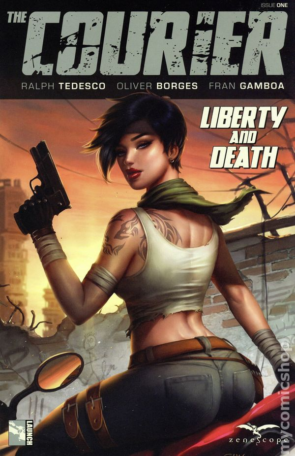 Courier Liberty and Death (2021 Zenescope) comic books