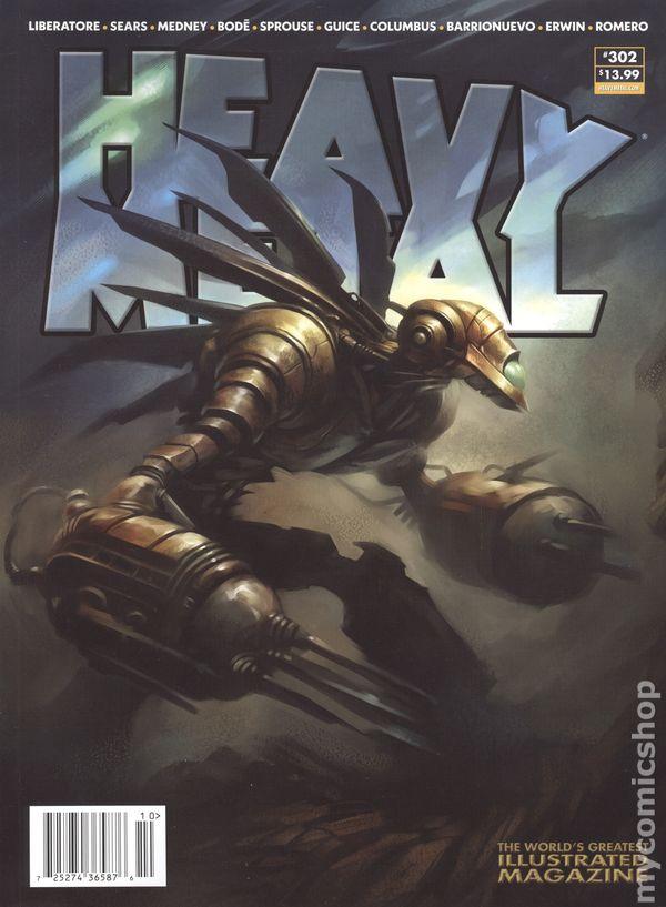 Heavy Metal Magazine #302A