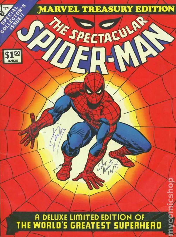 Marvel treasury edition vol 1 12 | marvel database | fandom.