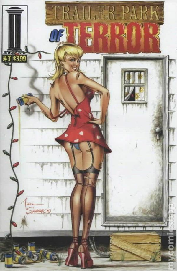 Erotic comic girl trailer