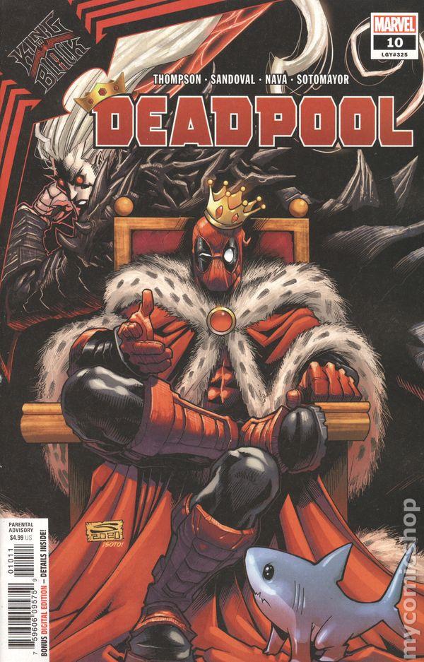Deadpool 10 Marvel 2009 VF//NM 3rd Series