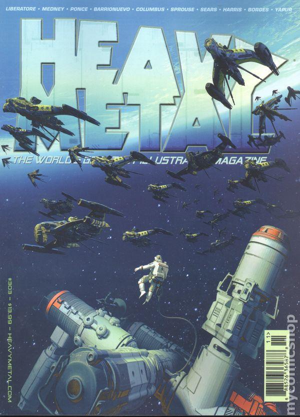 Heavy Metal Magazine #303A