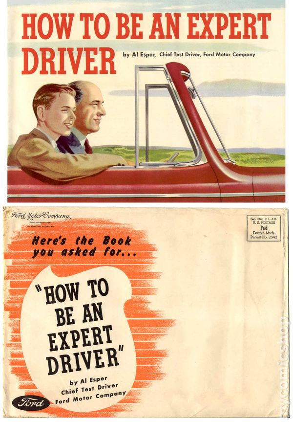 how to be an expert driver 1947 ford motor company comic. Black Bedroom Furniture Sets. Home Design Ideas