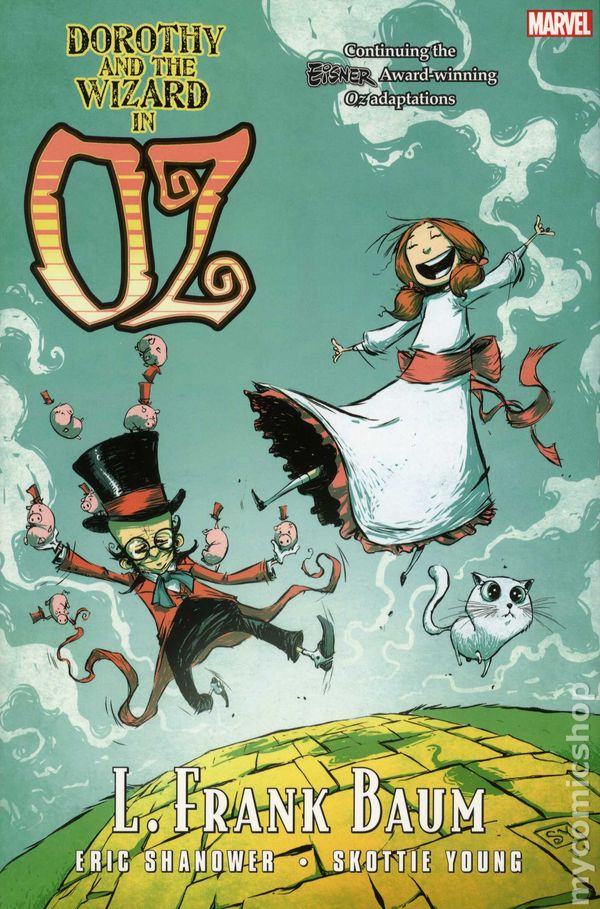 wizard of oz comic book