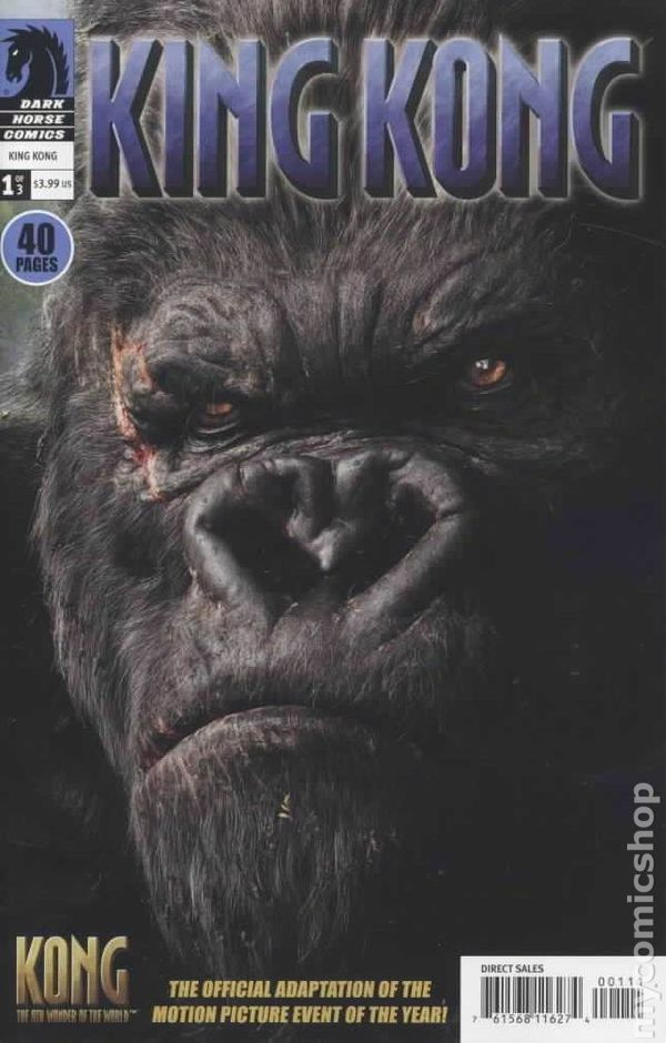 King Kong The 8th Wonder Of The World 2005 Comic Books
