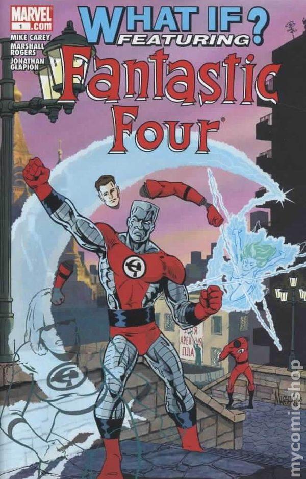 What If Fantastic Four 2005 Comic Books