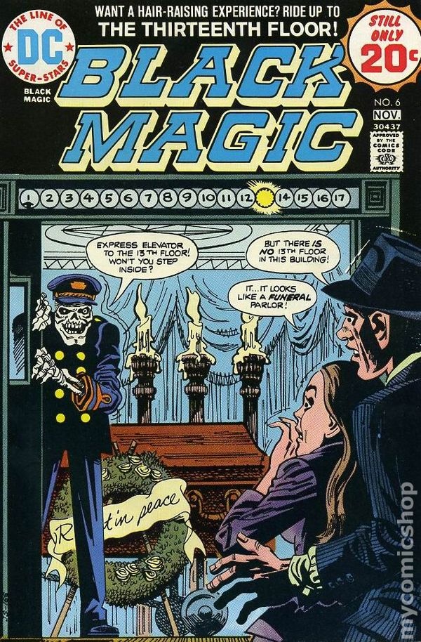 Black Magic 1973 Dc Kubert Collection Comic Books