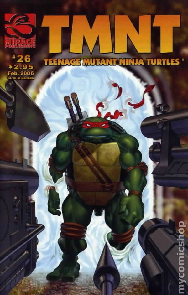 teenage mutant ninja turtles 2001 mirage  ic books