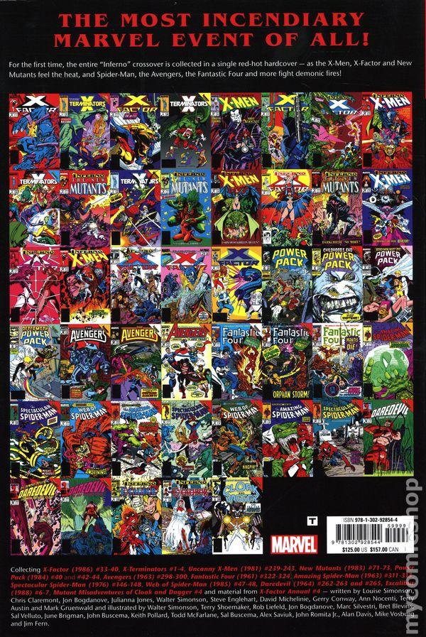 New, Sealed, OOP! X-Men Inferno Prologue Omnibus HC Hardcover MARVEL