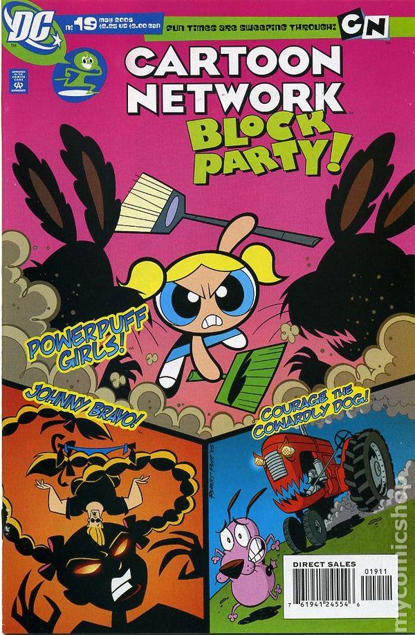 cartoon network block party  2004  comic books