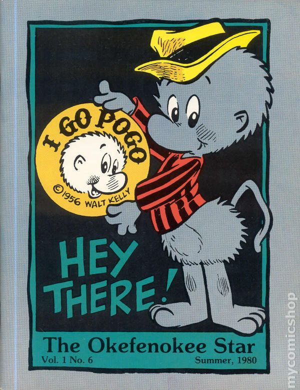 Pogo Okefenokee Star 1977 Comic Books