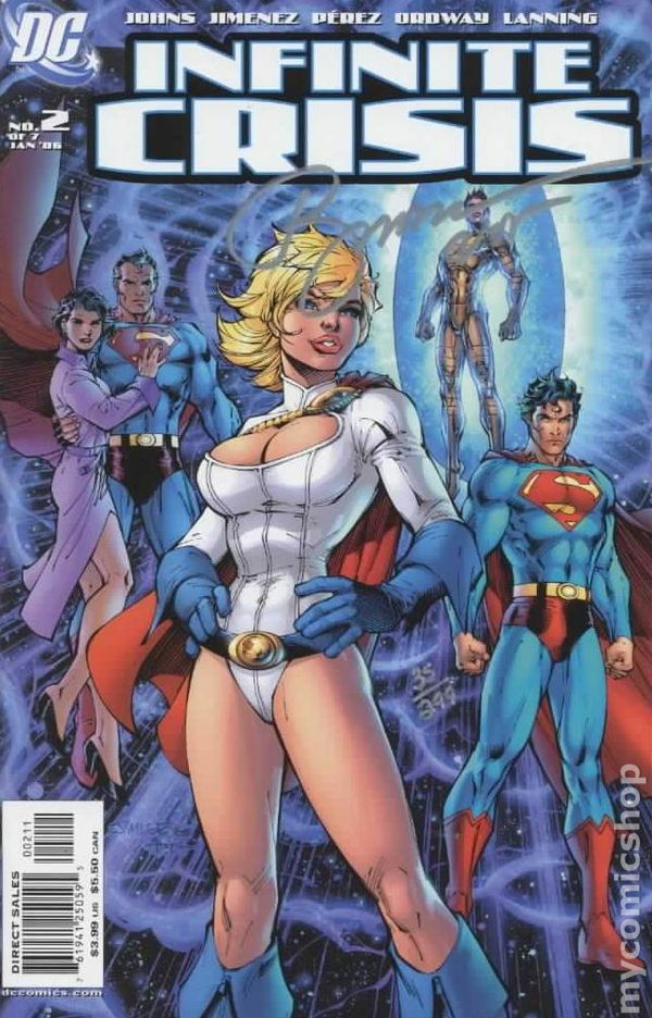 infinite crisis comic book