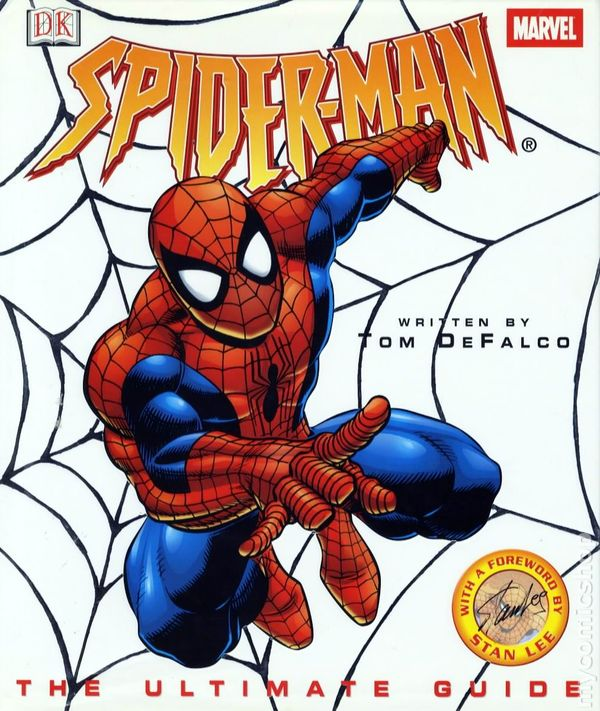 Free Comic Book Day Price Guide: Spider-Man The Ultimate Guide HC (2001 DK) 1st Edition