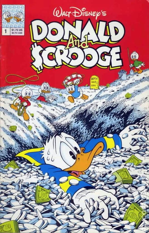 Donald and Scrooge (1992) comic books