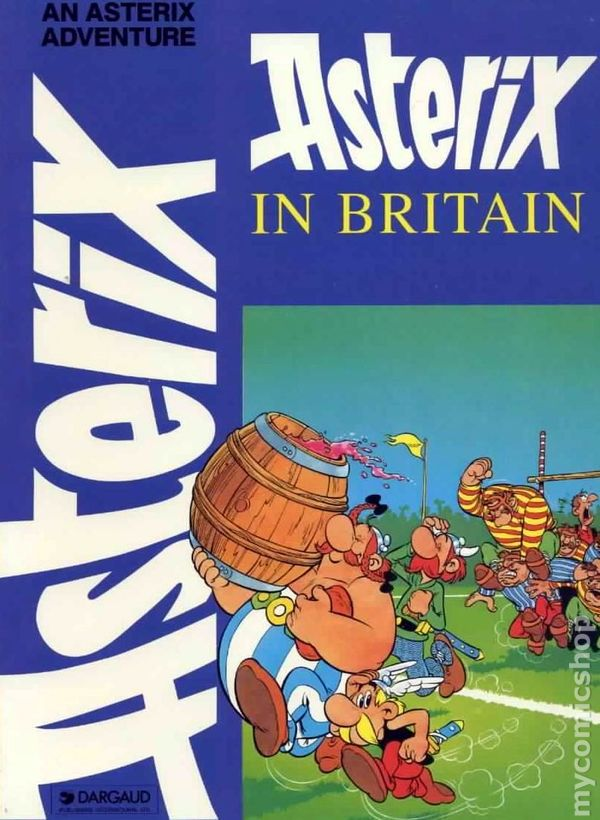 Asterix in britain gn 1970 dargaud edition comic books asterix in britain gn 1970 dargaud edition 1 rep altavistaventures Gallery