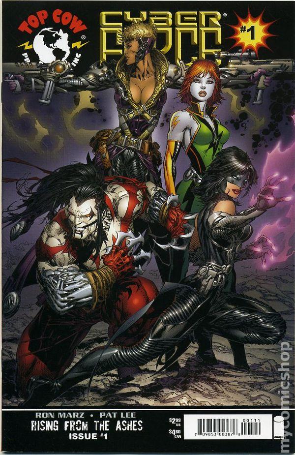 Cyberforce (2006 3rd Series) comic books