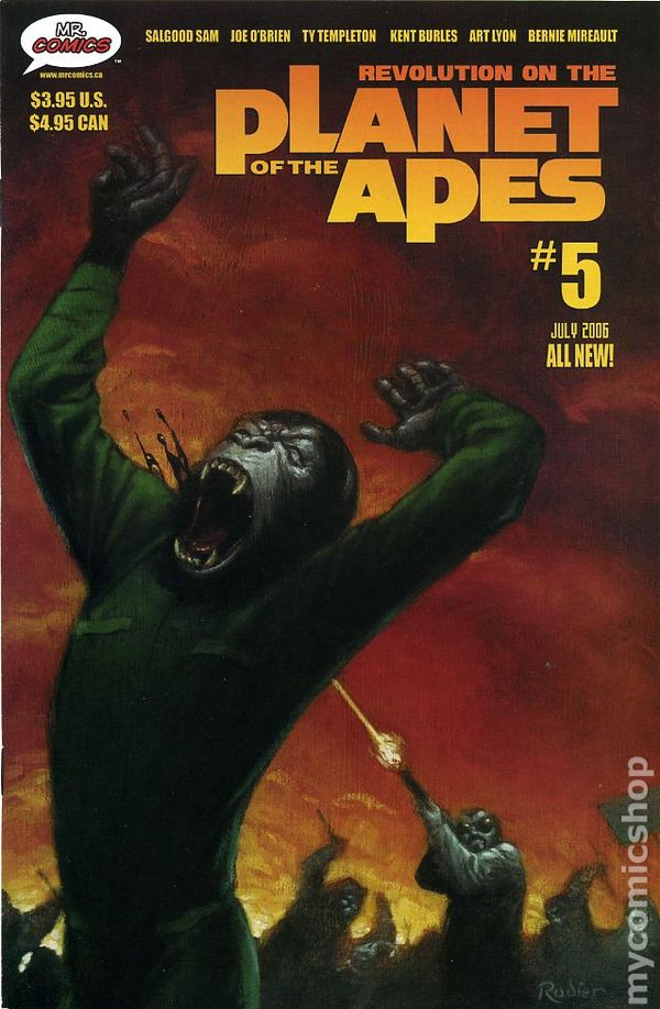 Planet Of The Apes Revolution