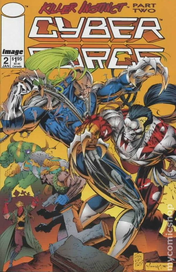 Cyberforce (1993 2nd Series) comic books
