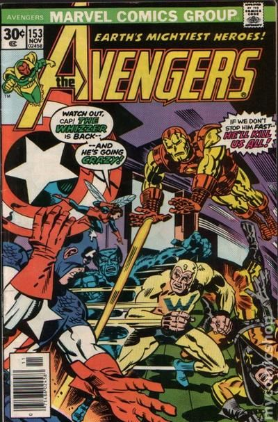 Avengers 1963 1st Series Mark Jewelers 153MJ