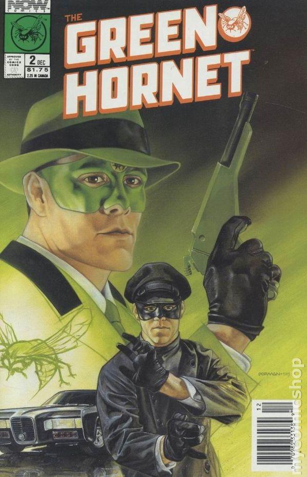 green hornet  1989 now  comic books