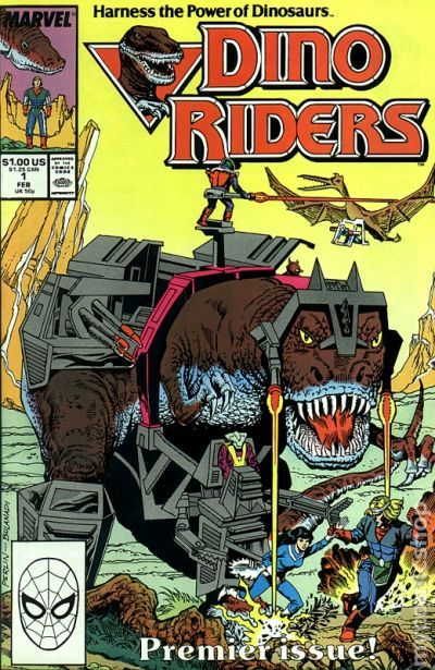 dino riders 1989 comic books