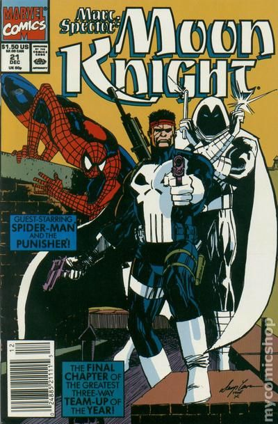 Moon Knight Comic Books Issue 21