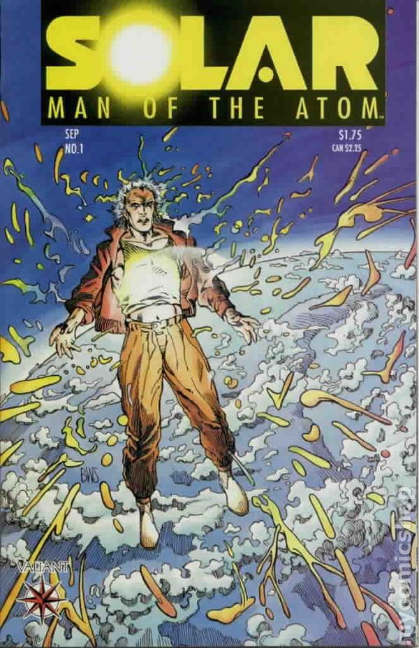 Solar, Man of the Atom #10 (1992) Value - GoCollect