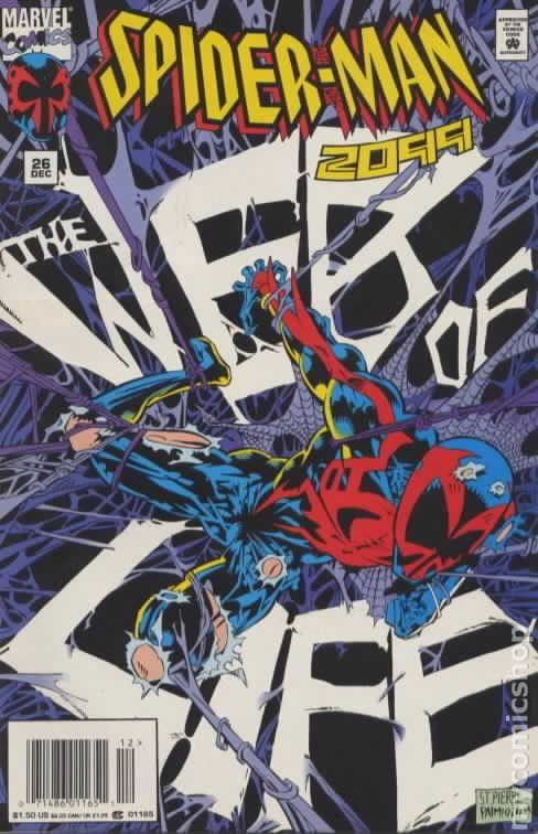 Comic spiderman book 2099