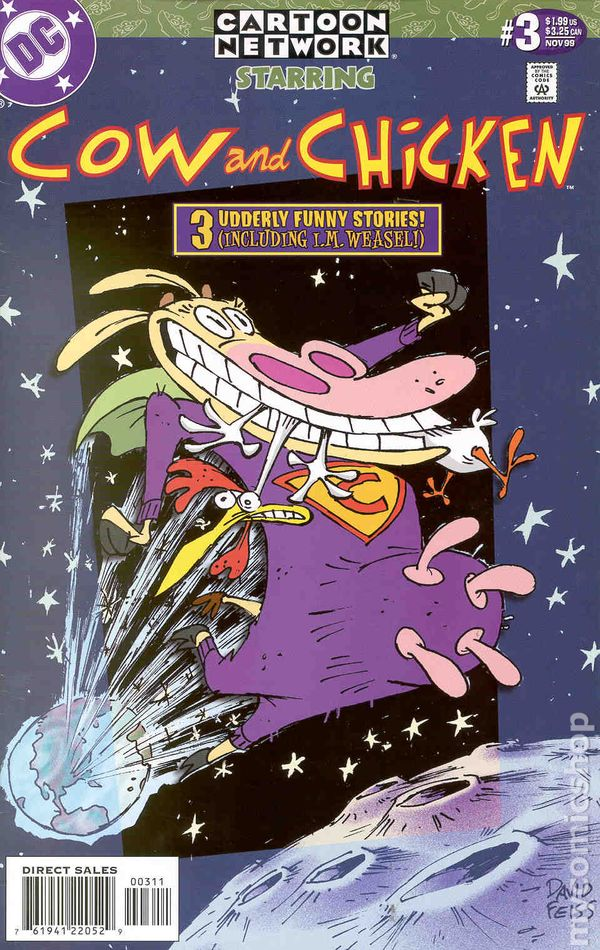 Space Ghost Coast to Coast #18 Cartoon Network Starring DC Comics See Pics NM//M