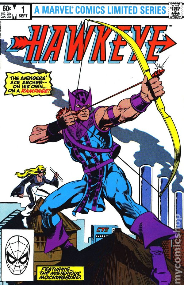Hawkeye 1983 1st Series Comic Books